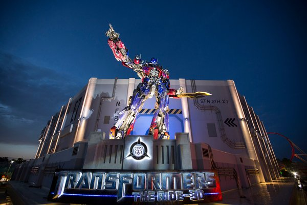 Transformers 3D ride at Universal Orlando