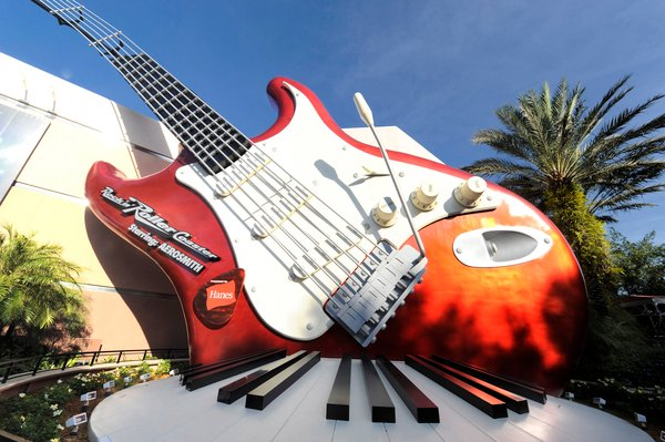 "Rock 'n' Roller Coaster Starring Aerosmith"" at Disney's Hollywood Studios theme park"