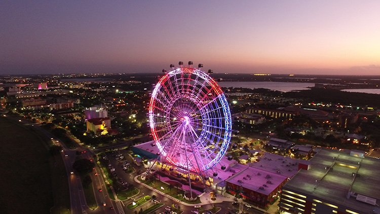 What is Orlando, Florida, best known for?