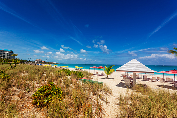 Grace Bay resort in Turks and Caicos
