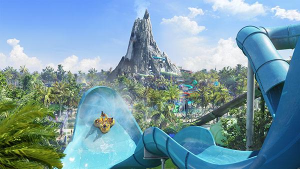 Volcano Bay at Universal Studios