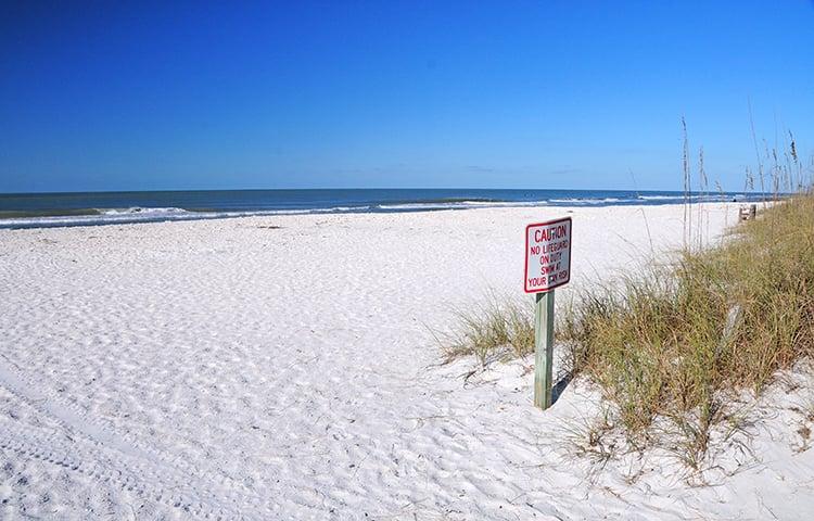 best beaches near orlando white sand