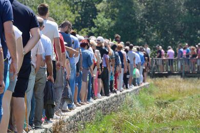 What are the queues like in Walt Disney World?