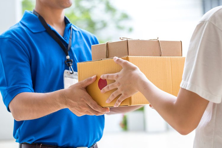 How can I have packages delivered to my villa prior to arrival?