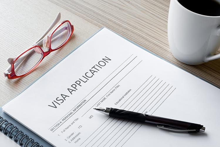 Visa application for Barbados