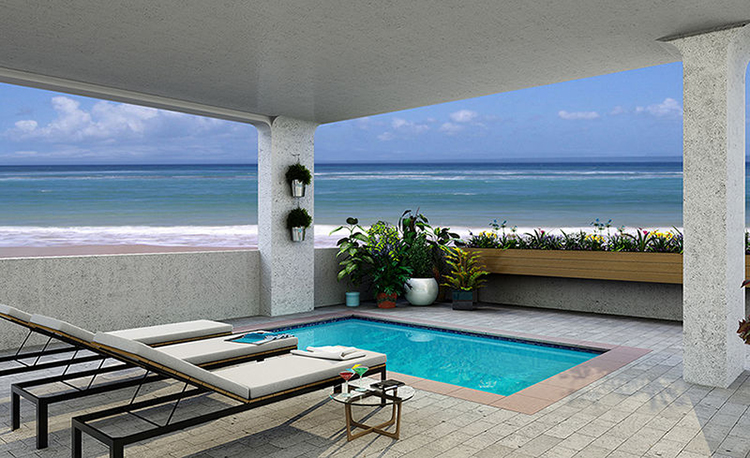 Luxury villas are easy to find in Destin, Florida