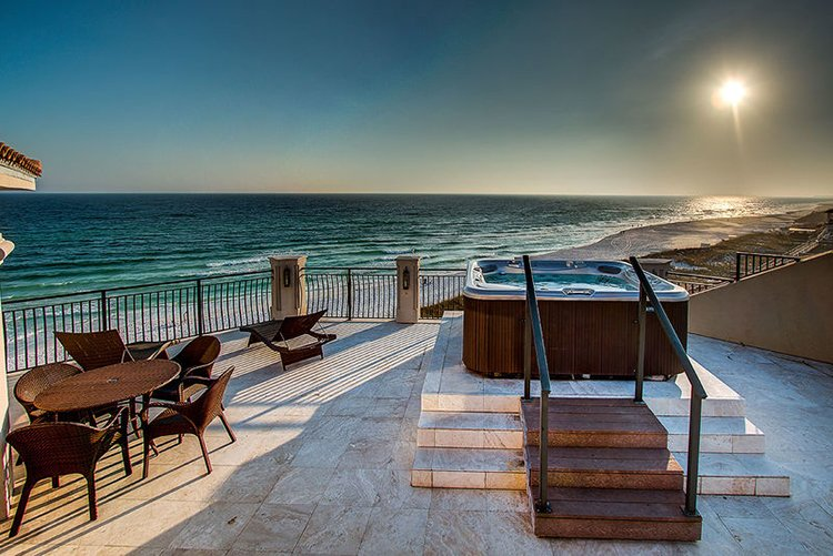 beachfront luxury villas in destin florida