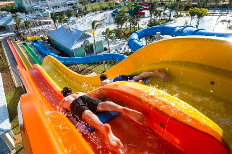 Vacation homes at Encore Resort come with access to a brand-new waterpark