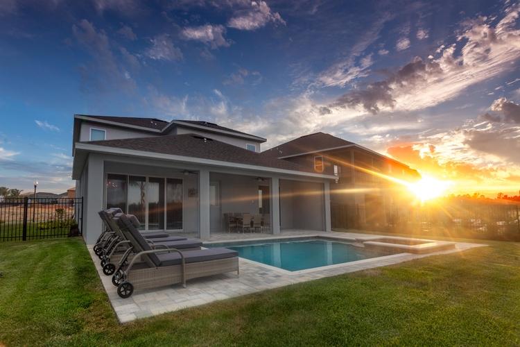 encore at reunion villa with private pool