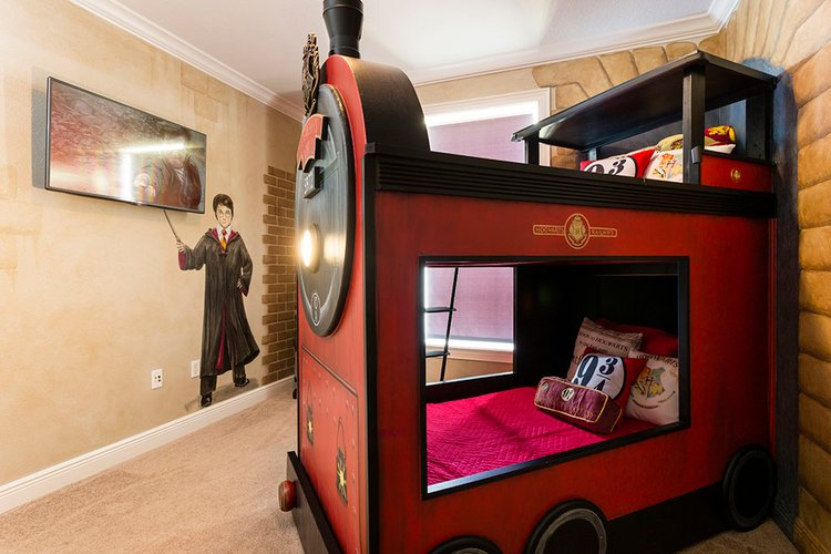harry potter themed room in orlando