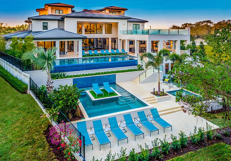 Reunion Resort is one of the most luxurious villas in Orlando