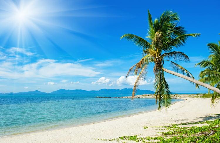 Tropical Island Beach Ambience Sound: The Safest Caribbean Islands