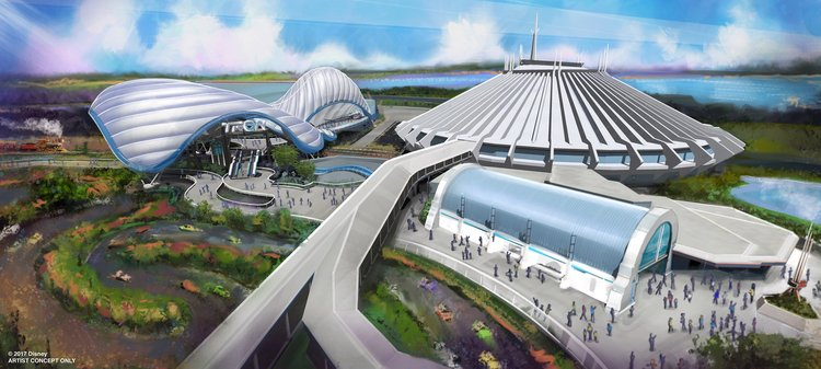 Disney World Tron attraction