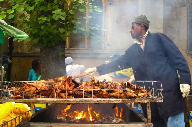 Jamaica vs Barbados for food