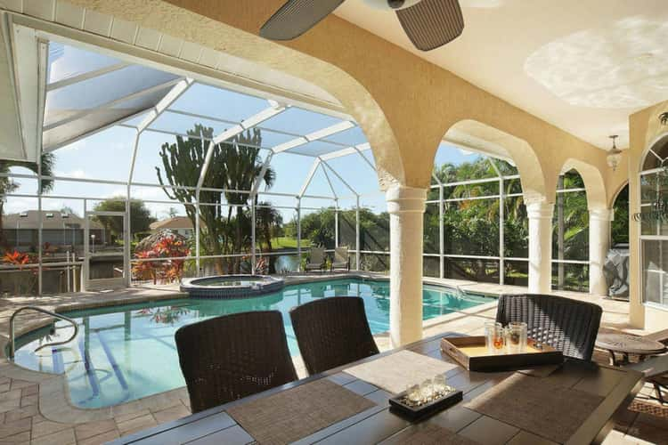 cape coral pet friendly villas