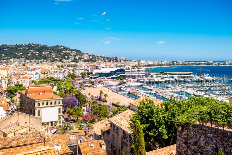 Cannes is a great place to visit in May