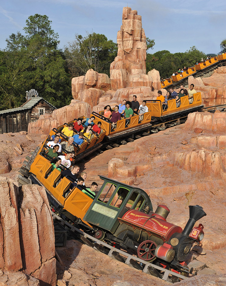 one of the fastest rides at Disney World