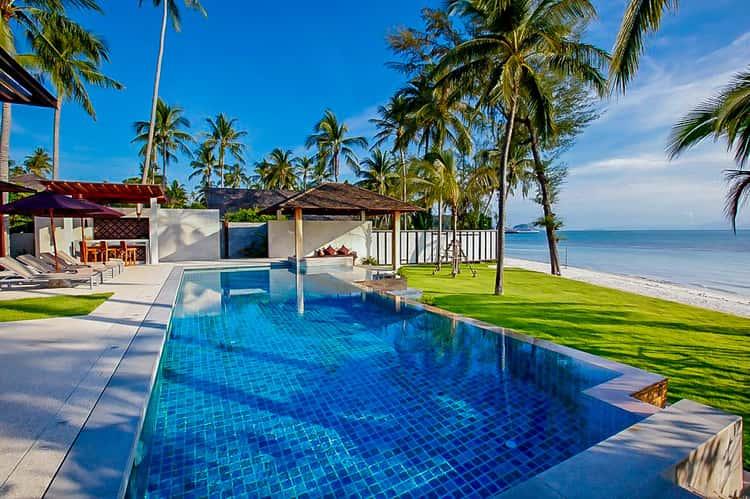 Koh Samui beach villas