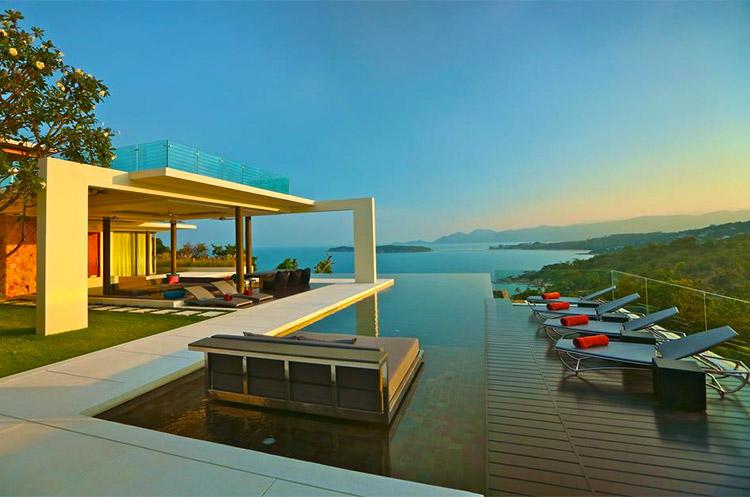 Choeng Mon villa in Koh Samui Thailand
