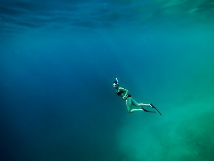 Diving is popular in Barbados and St Lucia