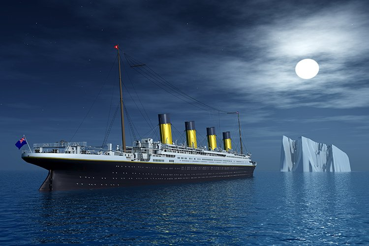 Titanic exhibition in Orlando, FL