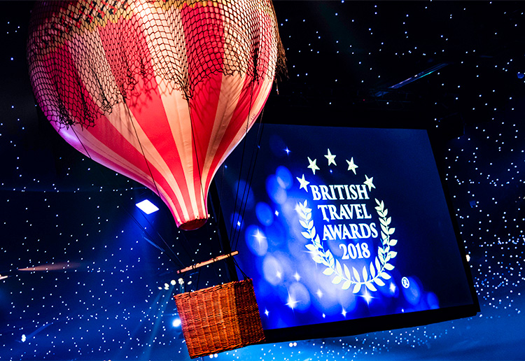 Top Villas is one of the winners at the British Travel Awards