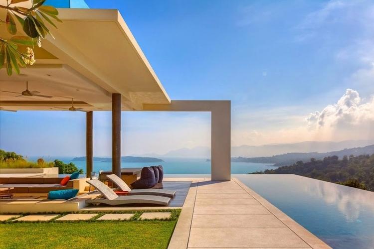 This Koh Samui villas has great sea views