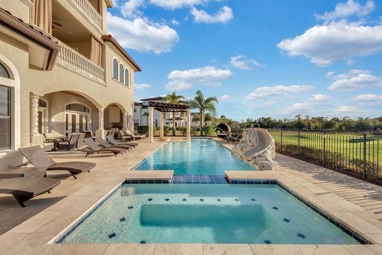 Villas with views