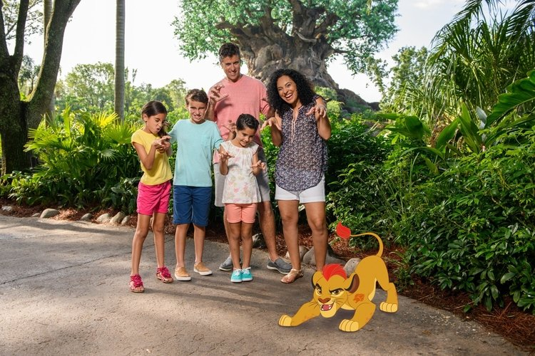 Disney Photopass Magic Shots are fun for all the family
