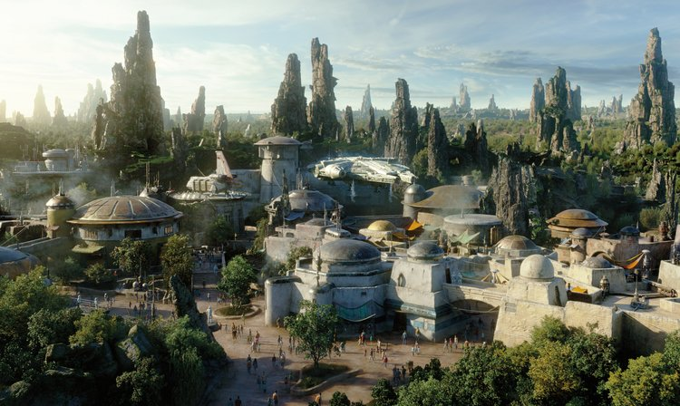Star Wars Land Disney World Orlando