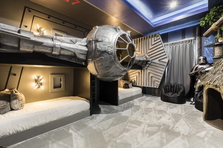 Visiting Star Wars land Disney World