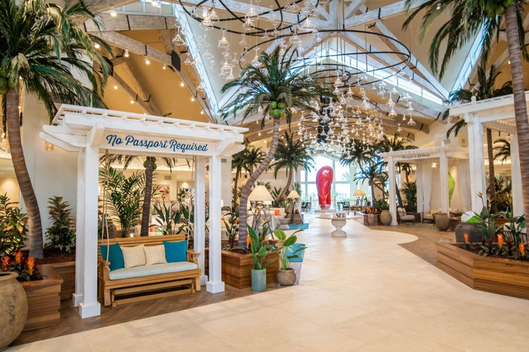 Margaritaville Resort Hotel features funky decor