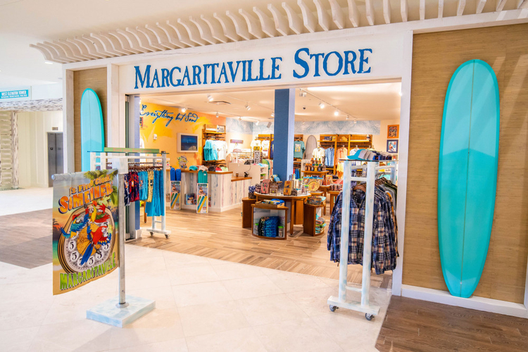 Check out the store at Margaritaville Resort lobby