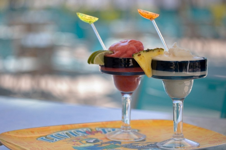 Kick back and relax with a cocktail at Margaritaville Resort Orlando