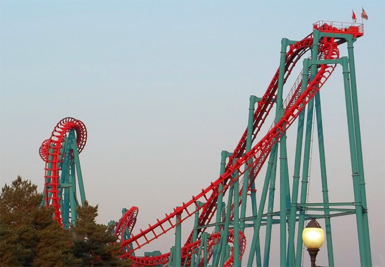 Darien Lake is a good-value theme park in the US