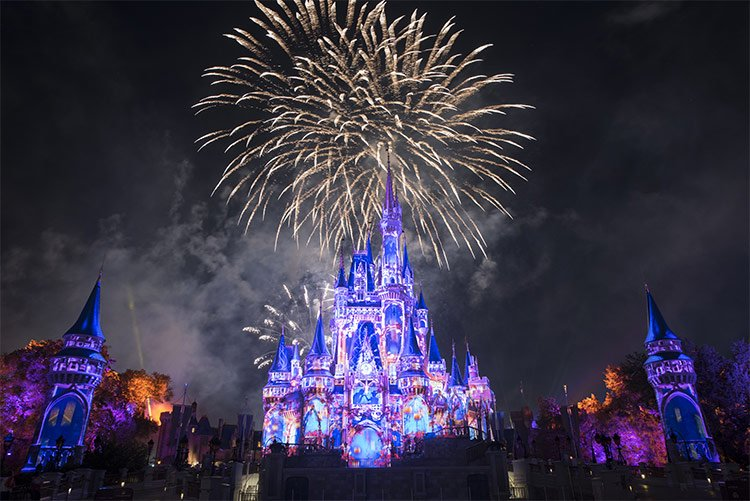 The Magic Kingdom is the most visited theme park in the USA