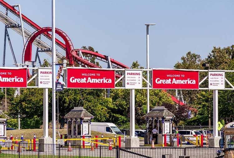 California's Great America is one of the best theme parks for repeat visits