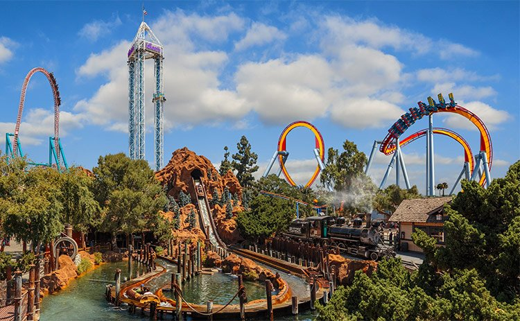 Knotts Berry Farm is one of the best theme parks in the USA