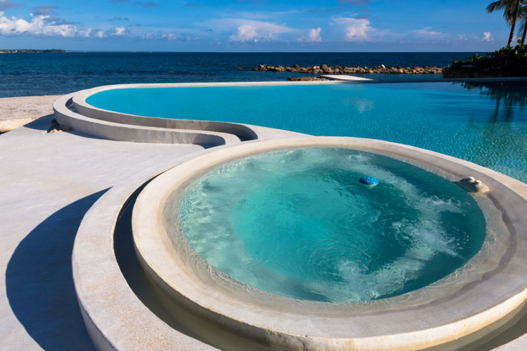 Oceanfront villas in the Dominican Republic