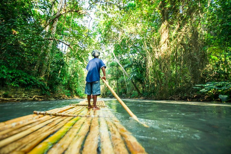River rafting is one of the most popular things to do in Jamaica