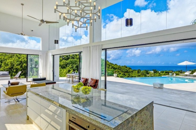 Caribbean villas for winter sun