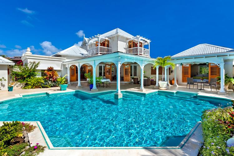Winter sun Caribbean