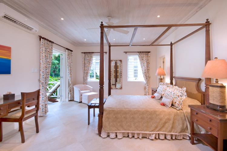 En-suite bedroom with a private outdoor terrace