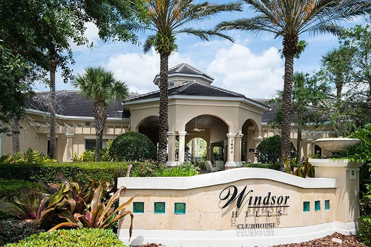 the clubhouse at Windsor Hills Orlando