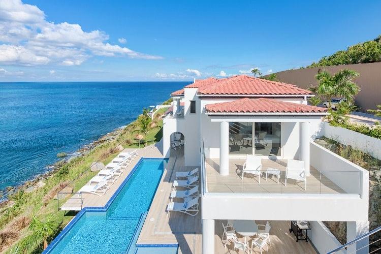 Luxury sea view villas in St.Martin