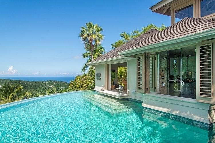 8 bedroom villa in Jamaica with private chef