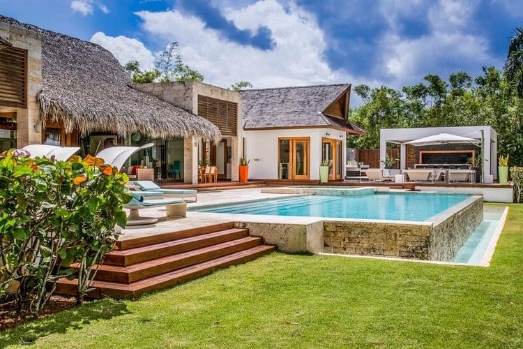 This 5-bedroom villa is located in Casa de Campo