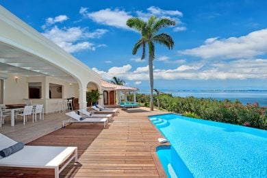 Beachfront villas in St Martin