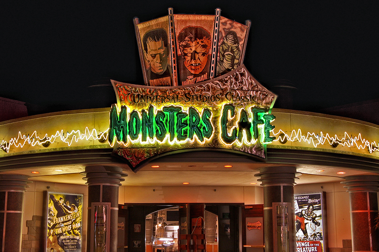 The Classic Monster Cafe at Universal Studios, Orlando