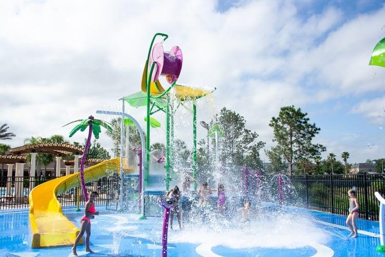 The water park at Windsor Hills Resort